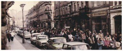 30 Jahre Friedliche Revolution in Pirna, Programm Uniwerk, 19. November 2019, Bündnis 90 / Die Grünen