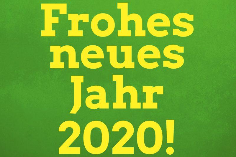 Frohes neues Jahr 2020 in Pirna, Sachsen! Auch der Stadtverband von BÜNDNIS 90/DIE GRÜNEN startet mit neuer Kraft!