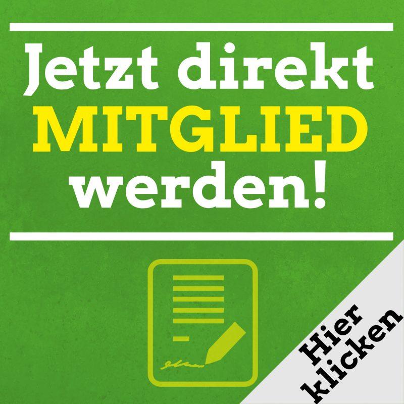 Grüne Mitglied werden Mitgliedsantrag BÜNDNIS 90/ DIE GRÜNEN