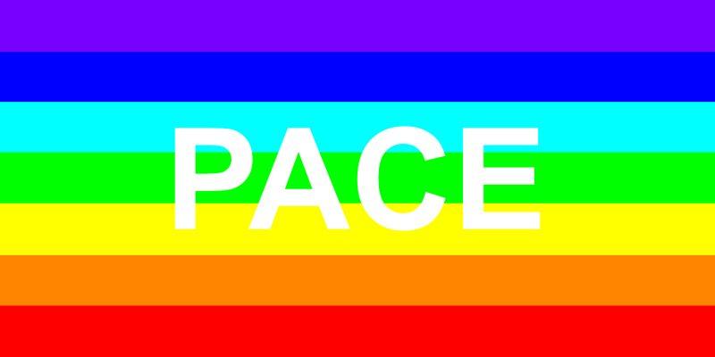 Nachbildung der Bandiera della Pace