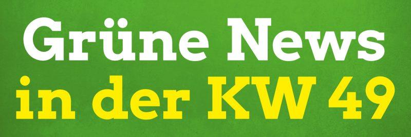 In den Pirnaer Grüne News der Kalenderwoche 49 in 2020 geht es u. a. um: Menschenrechte, E-Mobilität, Rechte Chats bei der Polizei, Coronavirus und Covid-19-Erkrankung, Cannabis und mehr.