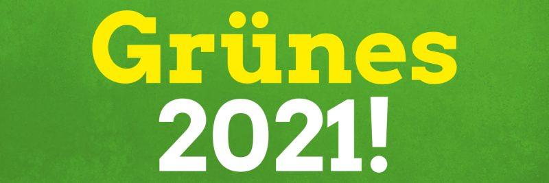 Wenn wir uns alle einbringen, jede*r als gleichberechtigte*r Teilhaber*in in einer Demokratie, dann können wir auch etwas bewegen. Auf ein grünes 2021! Bundestagswahl #BTW2021