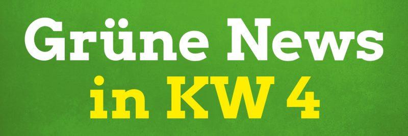 Zu den Themen in den Pirnaer Grüne News der Kalenderwoche 4 in 2021 gehören: Mensch Pirna, Andreas Scheuer (und sein ausbleibender Rücktritt), Urteil im Fall des Mordes an Walter Lübcke, Folgen des Kohleabbaus, bessere Akku-Technologie, illegale Frontex-Aktivitäten und mehr.